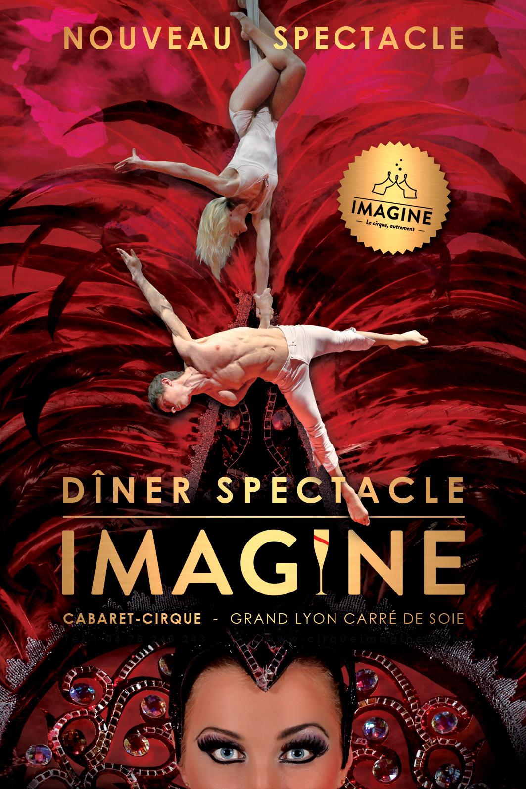 Affiche Cirque Imagine